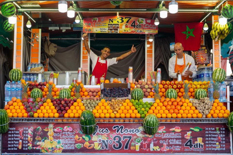 Ταξίδι στο Μαρόκο με τον Πάνο Γκαβάνα